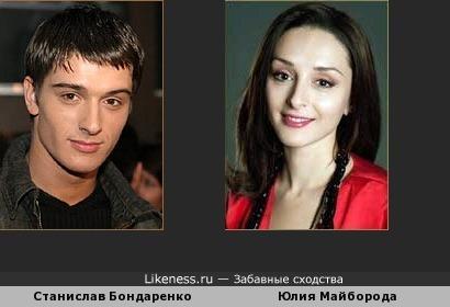 Станислав Бондаренко как брат-близнец Юлии Майборода