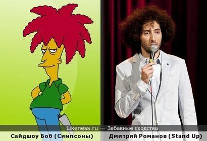 Сайдшоу Боб И Дмитрий Романов