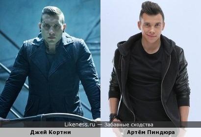 Артём Пиндюра похож на актёра из дивергента