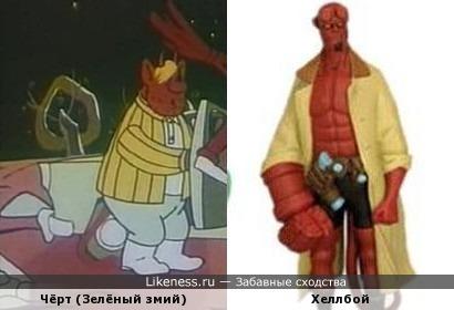 У Хеллбоя был брат в СССР