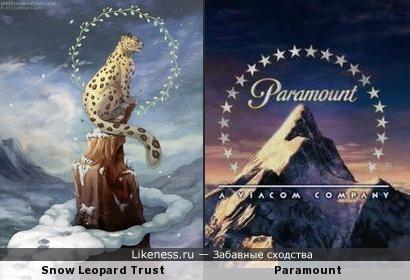 Леопард косплеит Paramount