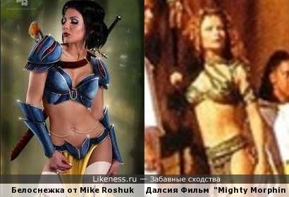 Диснеевские принцессы подались в амазонки 3