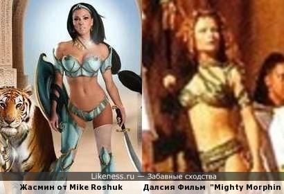 Диснеевские принцессы подались в амазонки 4