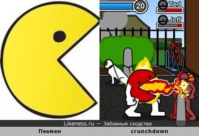 Эволюция Пекмена