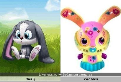 Zoobles в реальности