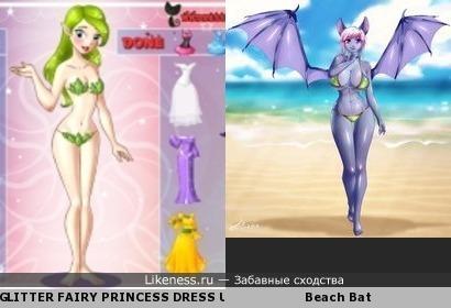 Мода принцесс и фурри летучих мышей