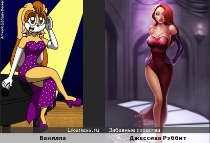 Косплей от героини мультсериала Соник Икс