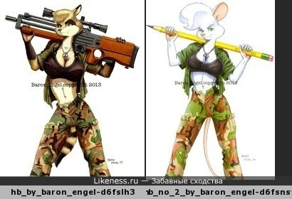 Мышь и енотка сёстры навек, шил им одежду один человек