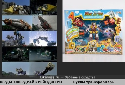 Военная азбука МОГУЧИХ РЕЙНДЖЕРОВ ОПЕРАЦИИ ОВЕРДРАЙВ