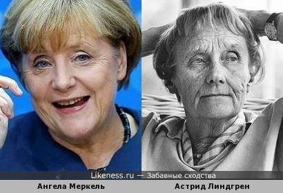 Ангела Меркель в старости