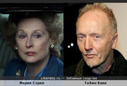 Мерил Стрип и Тобин Белл (Пила)