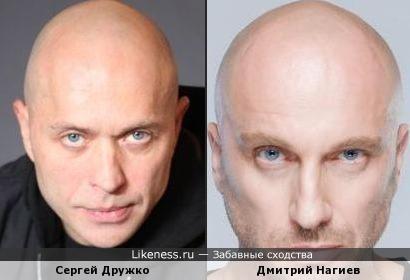 Сергей Дружко и Дмитрий Нагиев чем-то похожи)
