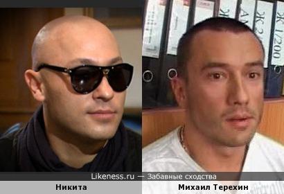 Никита и Михаил Терехин похожи