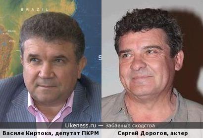 Депутат ПКРМ похож на актера из 6 кадров