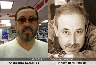 Певец Кальянов похож на журналиста Николаева (или наоборот)