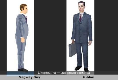 Segway Guy похож на G-Man
