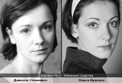 Эти две актрисы похожи!!!