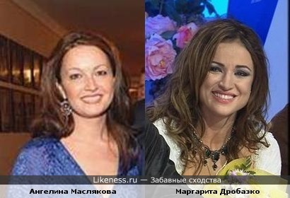 Жена Маслякова мл. и фигуристка Дробязко похожи!