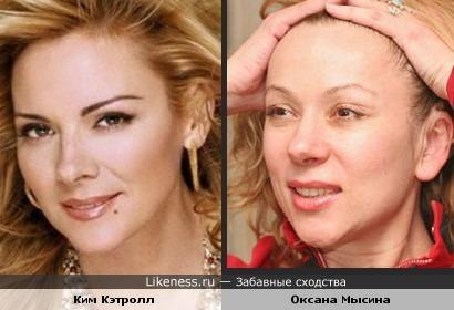 Эти две актрисы чем-то похожи!