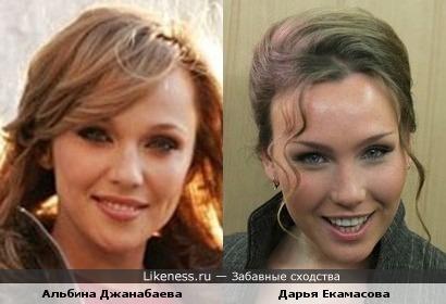Эти две девушки очень похожи!