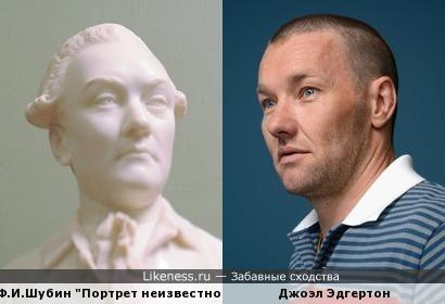 "Ф.И.Шубин ""Портрет неизвестного"