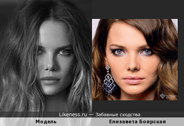 Девушка-модель напомнила Лизу Боярскую