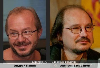Андрей Панин похож на Алексея Балабанова