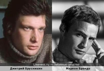 Дмитрий Брусникин напоминает Марлона Брандо
