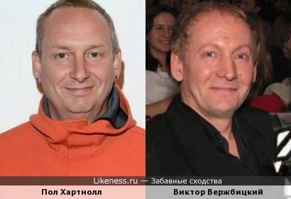 Пол Хартнолл (Orbital) и Виктор Вержбицкий