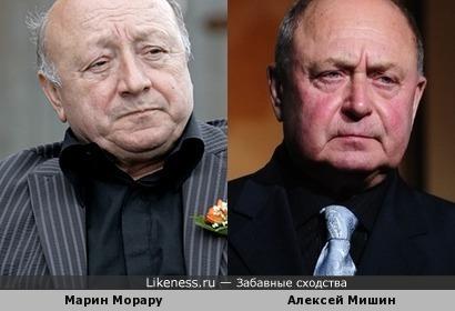 Марин Морару и Алексей Мишин