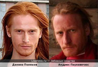 Данила Поляков и Андрюс Паулавичюс