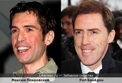 Максим Покровский и Роб Брайдон