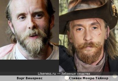 Варг Викернес и Стивен Монро Тейлор