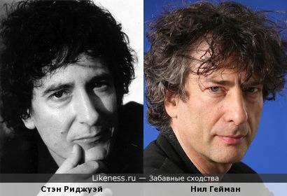 Стэн Риджуэй и Нил Гейман