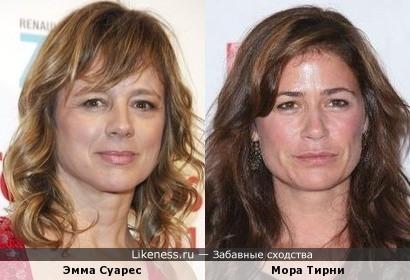 Эмма Суарес и Мора Тирни