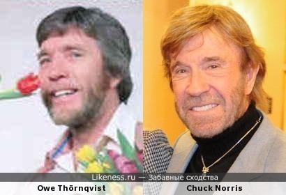 Owe Thörnqvist-Chuck Norris