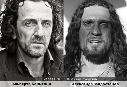 Альберто Боньянни и Александр Залдостанов