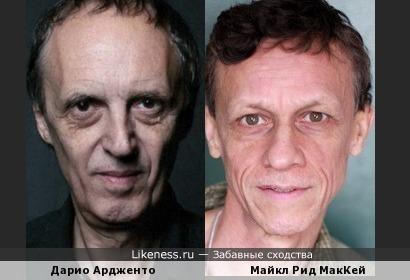 Дарио Ардженто и Майкл Рид МакКей
