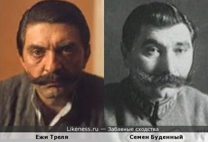 Ежи Треля и Семен Буденный