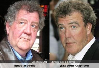 Брюс Перчейз и Джереми Кларксон