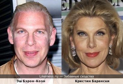 Эш Бэрон-Коэн и Кристин Барански