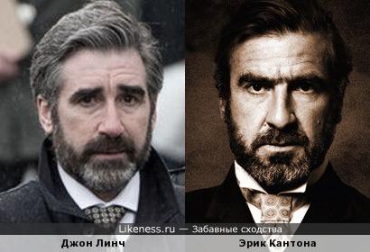 Джон Линч и Эрик Кантона