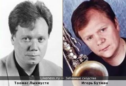 Игорь Бутман и Тоомас Лыхмусте