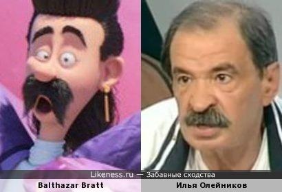 Balthazar Bratt — Илья Олейников