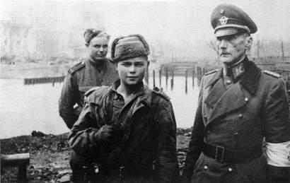 Пленение начальника медицинской службы полиции Берлина генерал майора Карла Вробеля (Karl Emil Wrobel)