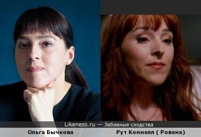 Ольга Бычкова и Рут Коннелл