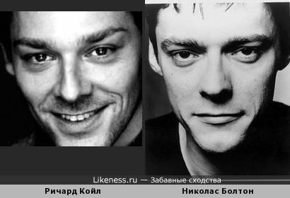Ричард Койл и Николас Болтон