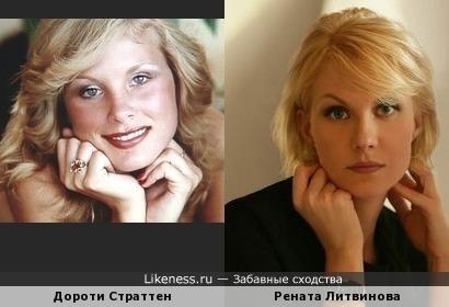 Американская плейбой модель Дороти и Рената Литвиновп -БЛИЗНЕЦЫ