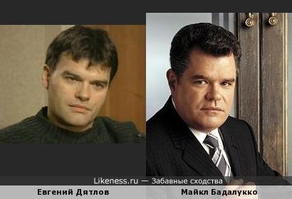 """Евгений Дятлов и Майкл Бадалукко(""""Практика"""") мне кажутся очень похожими.Евгений стронее,но это пока... ;-)"""