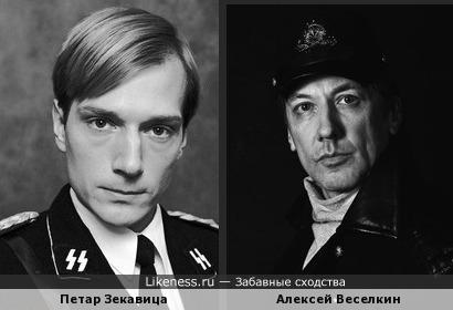 """Петар Зекавица и Алексей Веселкин """"вошли в образ"""